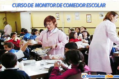 El perfil profesional y las competencias de un monitor comedor escolar