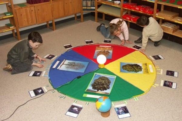 aplicación del método montessori